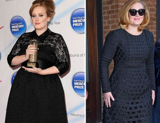 adele weight loss 2016 - 2017