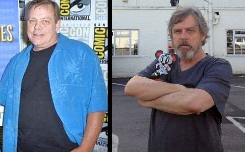 Mark Hamill weight loss