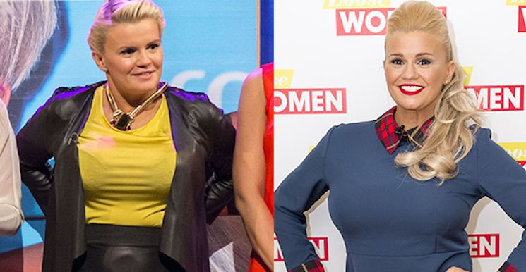 Kerry Katona Managed to Drop 3 Dress Sizes