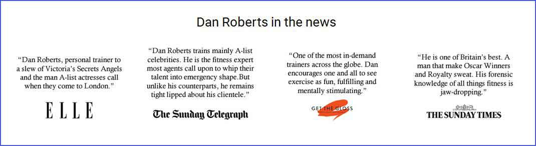 Dan Roberts in the news