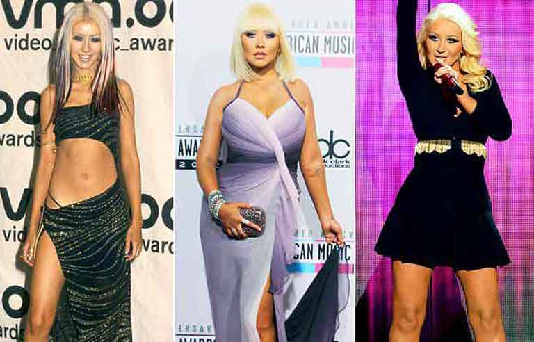 Christina Aguilera Burlesque Weight Loss