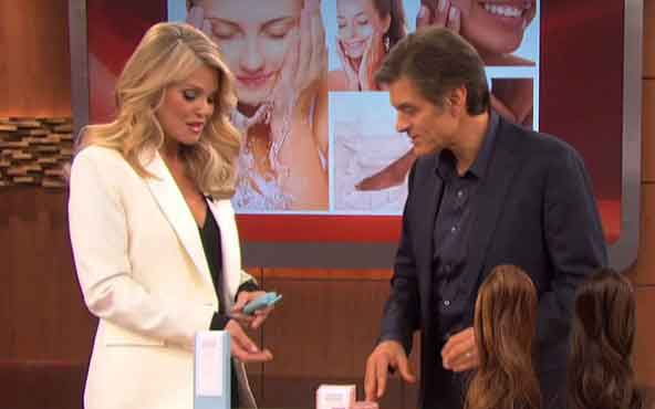 christie-brinkley-skin-care-dr-oz-show