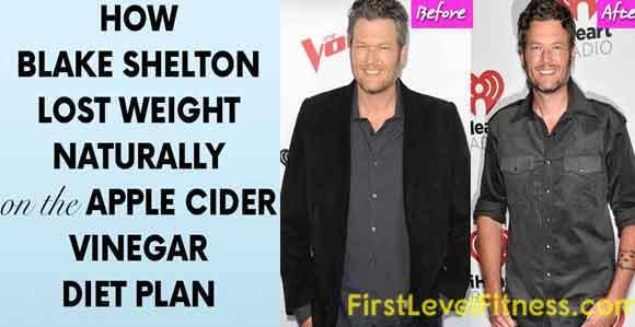 blake-Shelton-weight-loss-Apple-cider-vinegar
