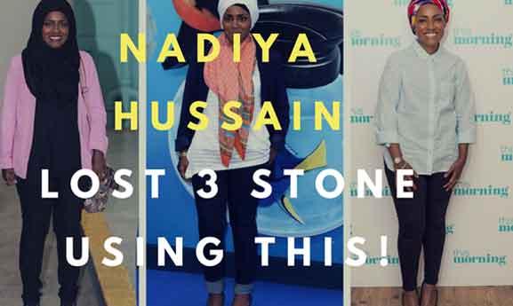 nadiya hussian weight loss